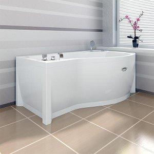 МИРАНДА гидромассажная ванна 1680х950 (левая, правая) форсунки хром, фронт. панель, каркас, слив